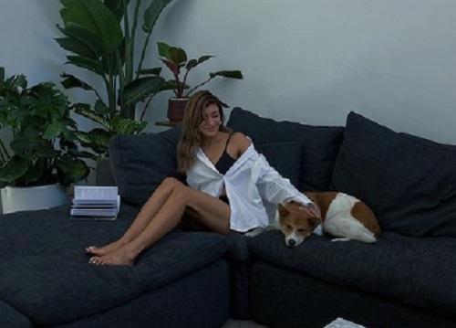 ローラと保護犬のあき