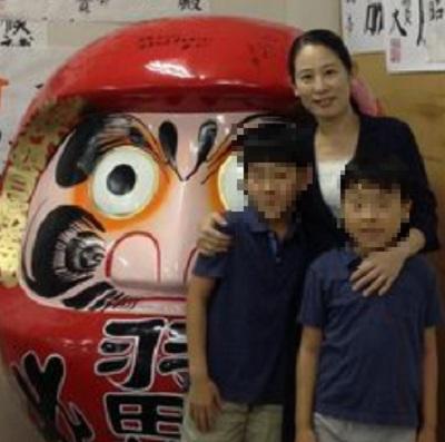 羽田雄一郎氏の嫁・羽田七栄と子供