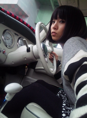 LiSAの愛車画像