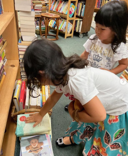 こんまり娘たち/書店にて