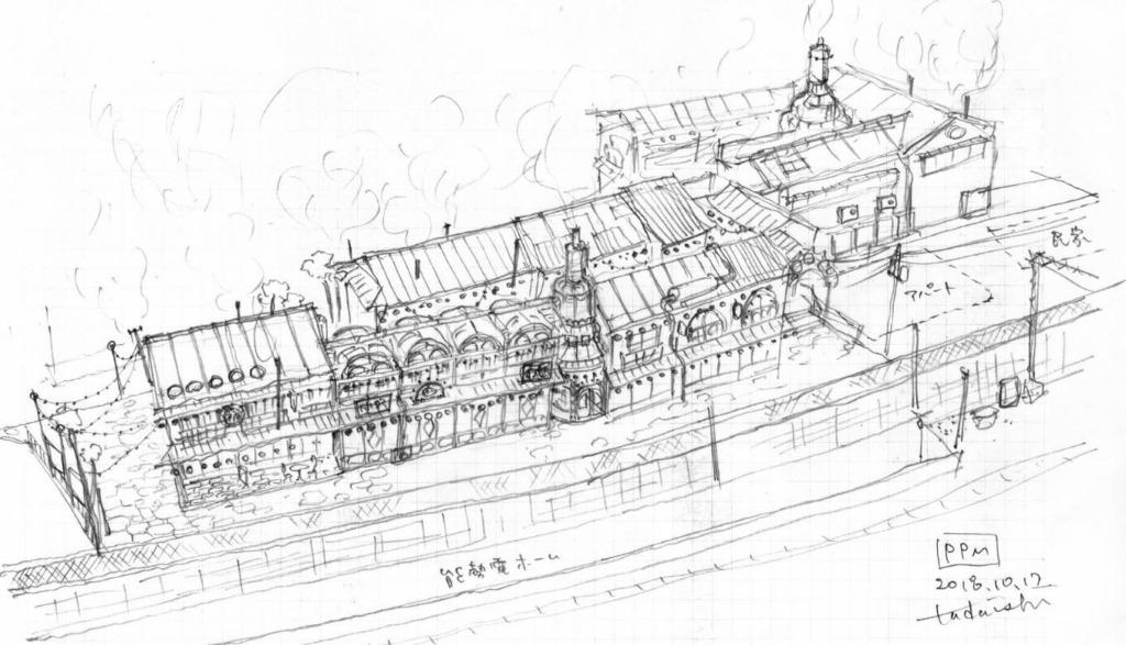 プペル美術館の完成予想図