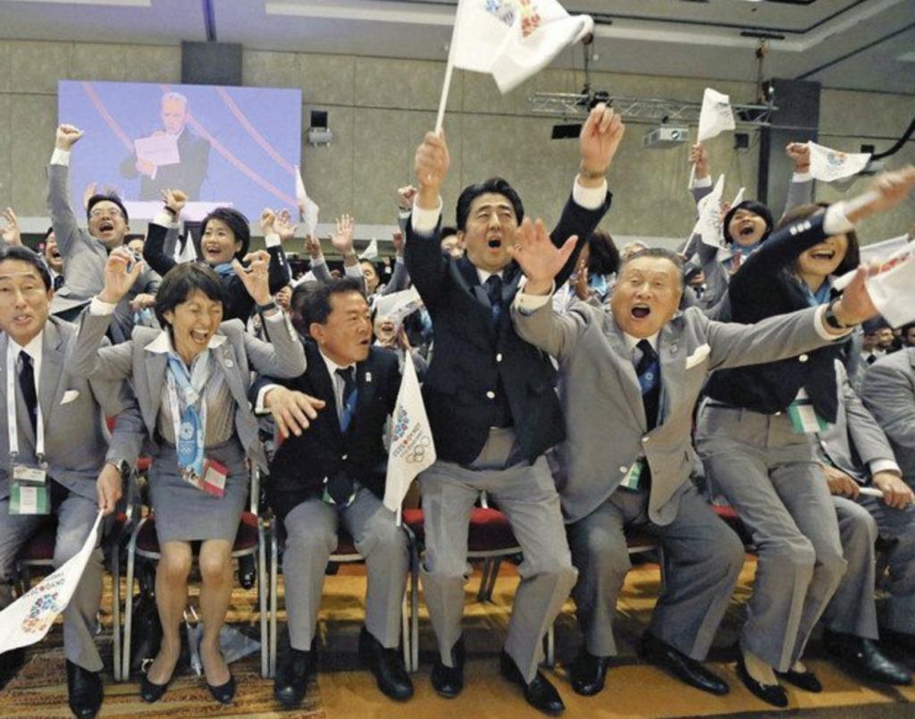 東京五輪・パラリンピックの開催が決定した瞬間