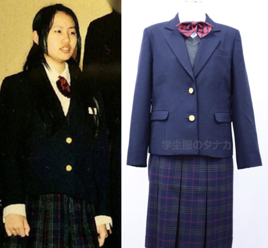 須藤早貴の制服姿と札幌市立北陽中学校の制服を比較