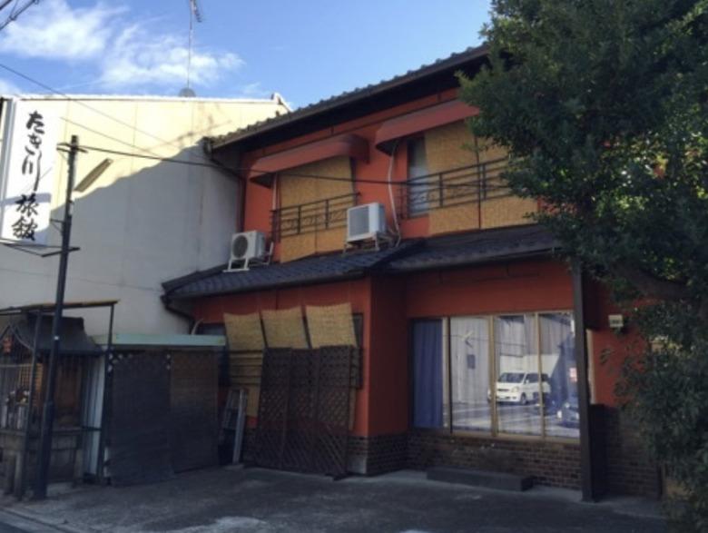 たき川旅館の外観