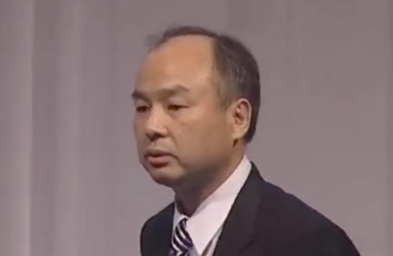 ソフトバンク記者会見時の孫正義(2010)