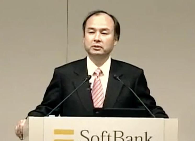 ソフトバンク記者会見時の孫正義(2004)