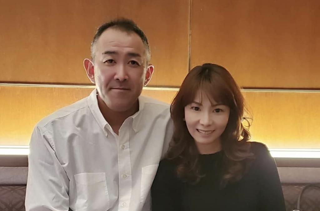 門倉健と妻の門倉民江