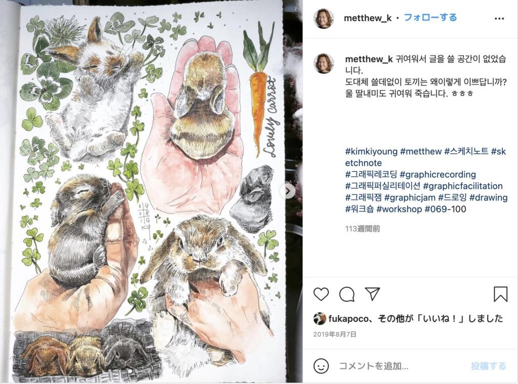 Kim Kiyoungさんのインスタグラム